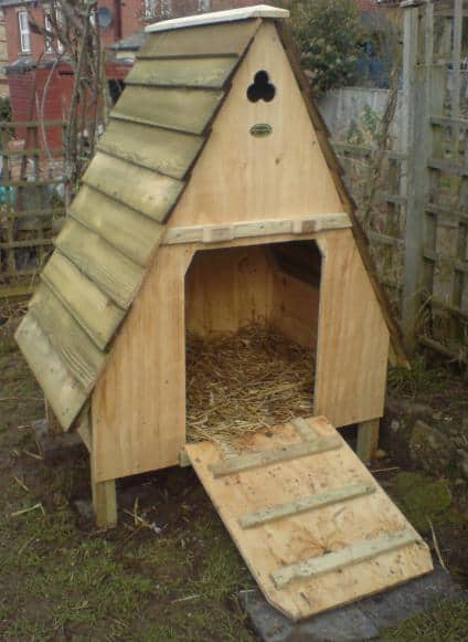 THE DESIGNER A-FRAME COOP