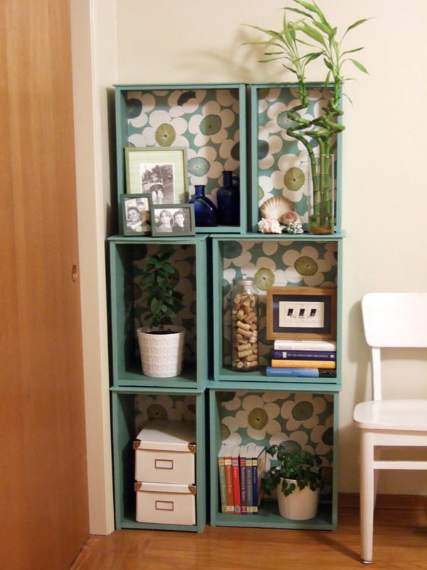THE SALVAGED DRAWERS BOOKCASE