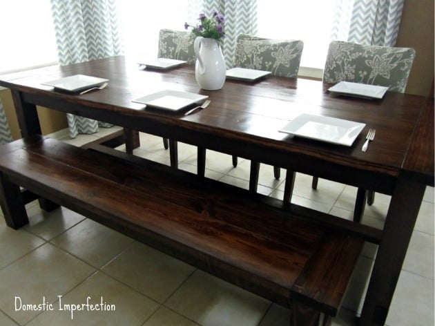 THE 6-SEATER FARMHOUSE TABLE