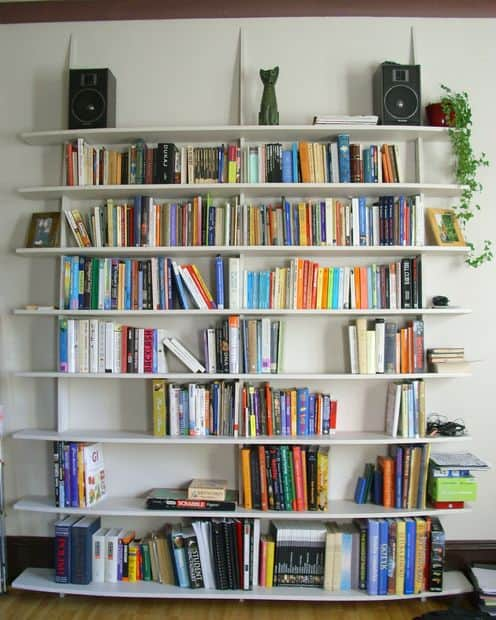 STYLISH AND EASY TO MAKE BOOKSHELF