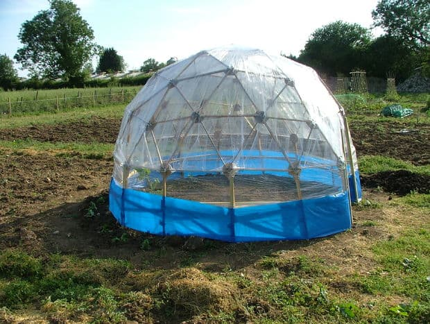 BUILD AN UPCYCLED GEODESIC DOME FOR LESS THAN $ 20