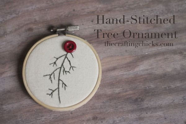 27. Learn How to Make Beautiful Hand-Stitched Tree Ornaments