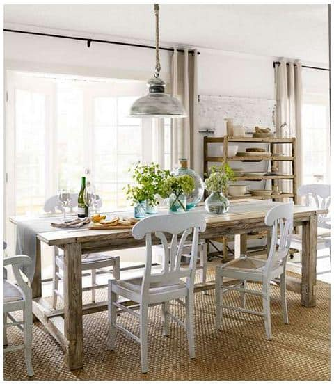 THE LARGE SIMPLE FARMHOUSE TABLE