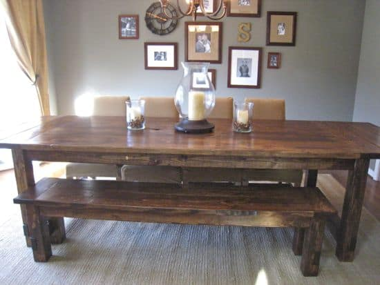 TOMMY'S FARMHOUSE TABLE