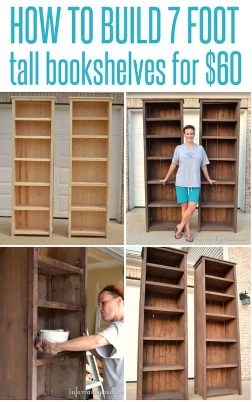 THE $60 BOOKSHELVES