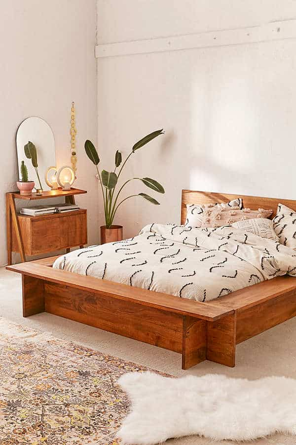 5961829d66d1 29 Brilliant Easy to Build DIY Platform Bed for a Cozy Bedroom