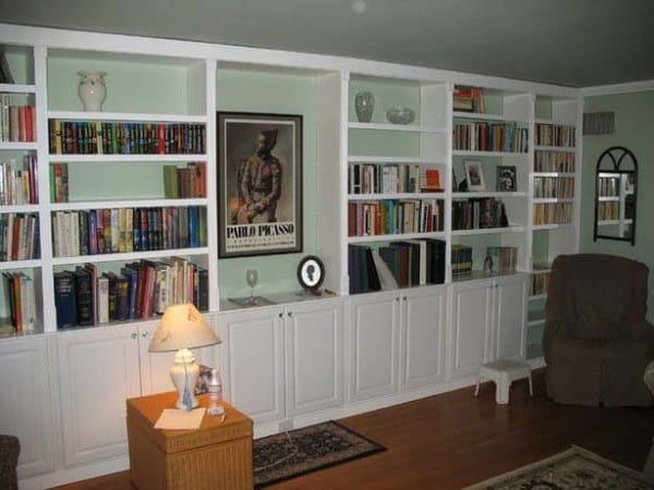 BUILT-IN BOOK CASES