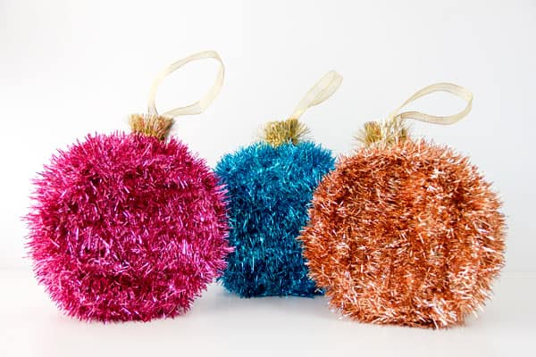 34. Adorn Your Christmas Tree with These Beautiful Ornament Piñatas