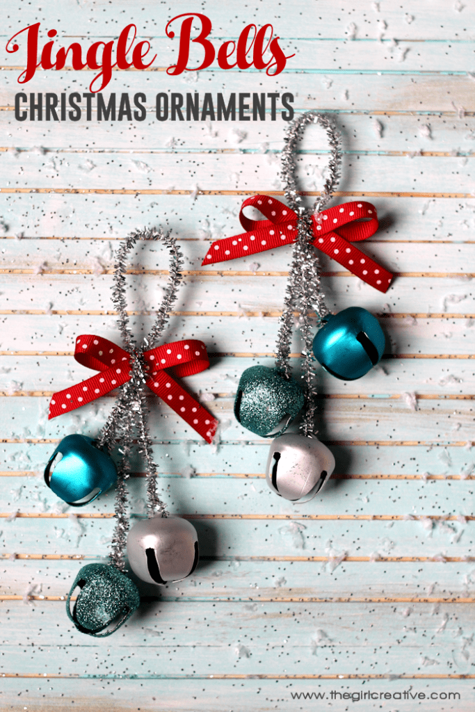36. Learn How to Create These Stunning Jingle Bells Christmas Ornaments