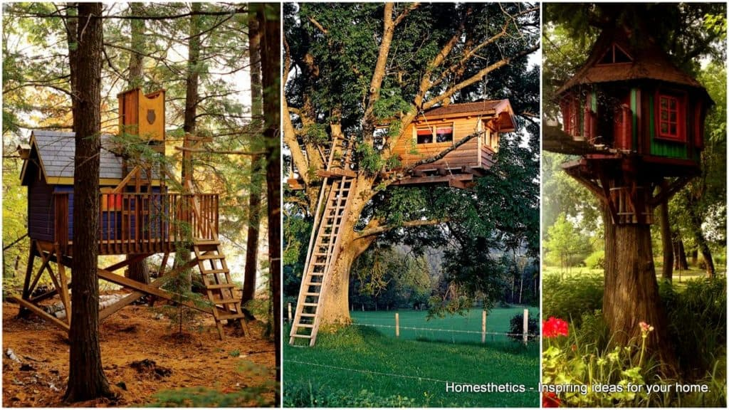 37 diy tree house plans that dreamers can actually build for A frame hut plans