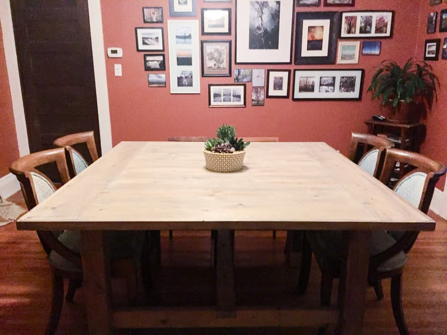 THE WIDE FARMHOUSE TABLE