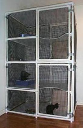 PVC PIPE CAGE