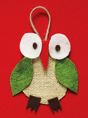 42. The Funny and Cheerful Christmas Owl Ornament