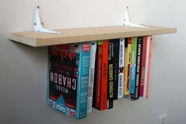 THE INVERTED BOOK SHELF