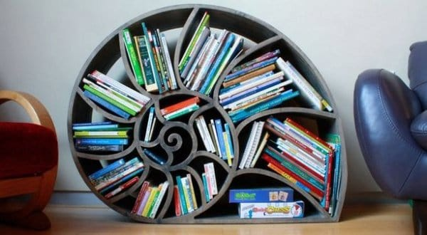 NAUTILUS BOOK SHELF