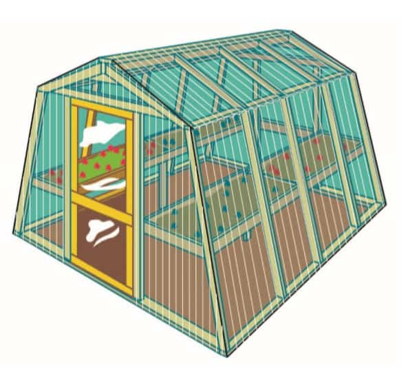 DIY GREENHOUSE PROJECT BY YELLAWOOD