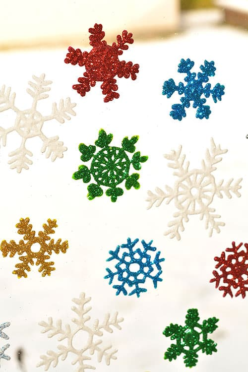 49. Decorate Your Windows with These Amazing Snowflake Window Clings