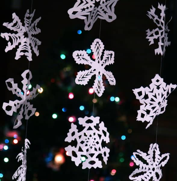 51. Learn How to Make These Intricate Paper Snowflakes in a Matter of Minutes