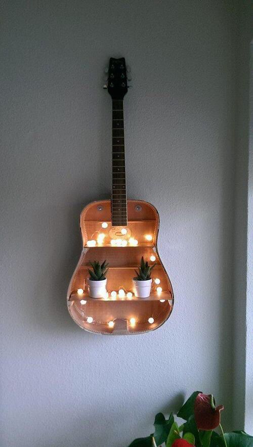 52. THE GUITAR BOOKCASE