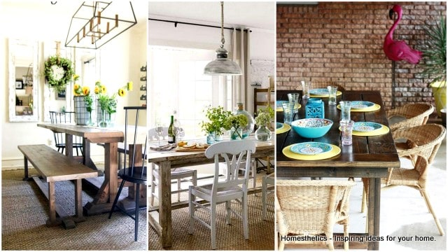 Captivating 53 100% FREE DIY Farmhouse Table Plans For Your Rustic Dinning Room