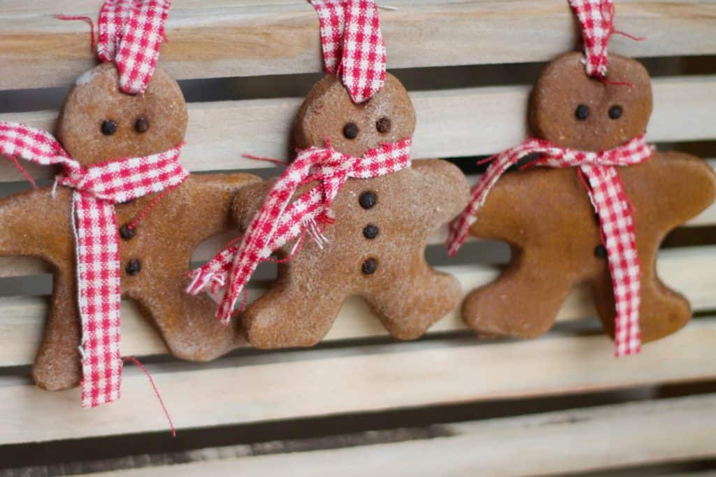 76. Decorate Your Christmas Tree With These Cute Gingerbread Man Ornaments