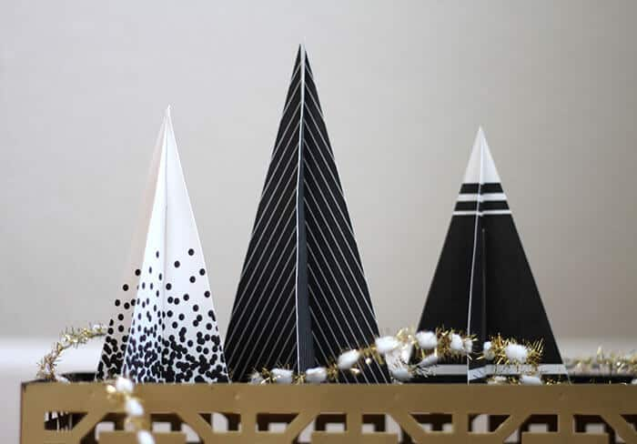 83. Understated Elegance – The Contemporary Christmas tree ornaments