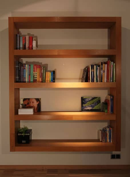 THE SIX CUBE BOOKSHELF
