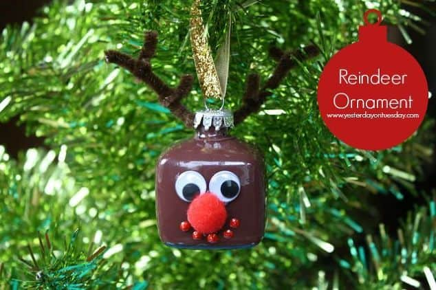 99. Decorate Your Christmas Tree With This Hilarious Reindeer Ornament