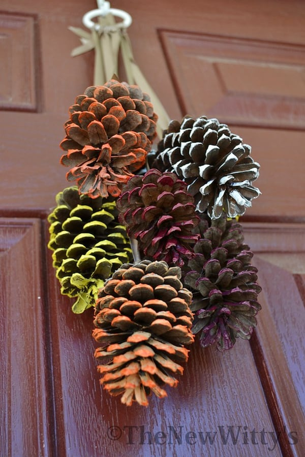 DSC 2260 Painted Pinecones The New Wittys