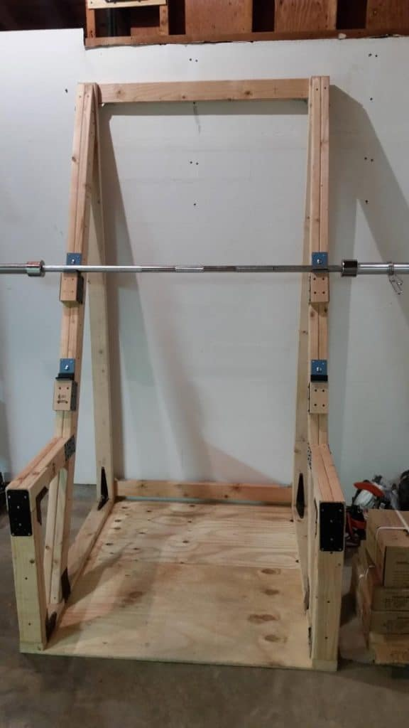 Homemade Squat Rack Ideas