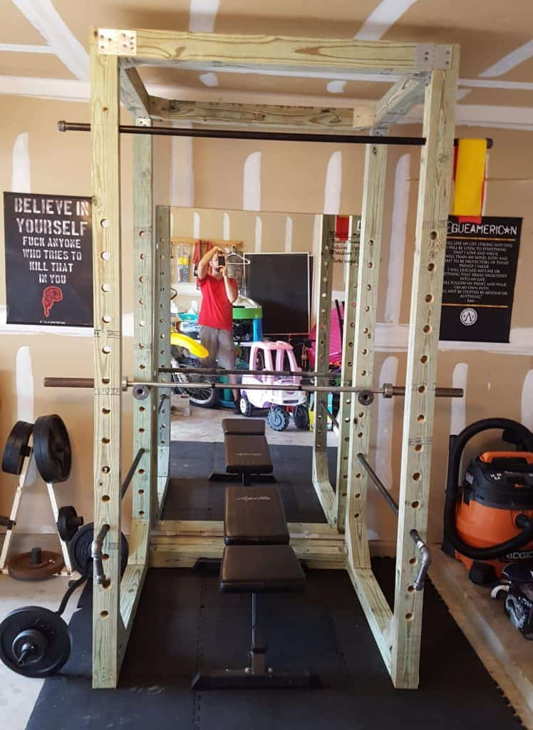 13 Healthy And Easy To Do Homemade Squat Rack Ideas And Tutorials
