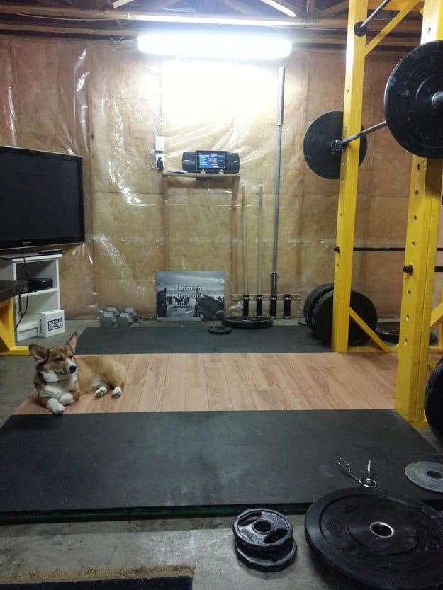 13 healthy and easy to do homemade squat rack ideas and for Homemade pull up bar galvanized pipe