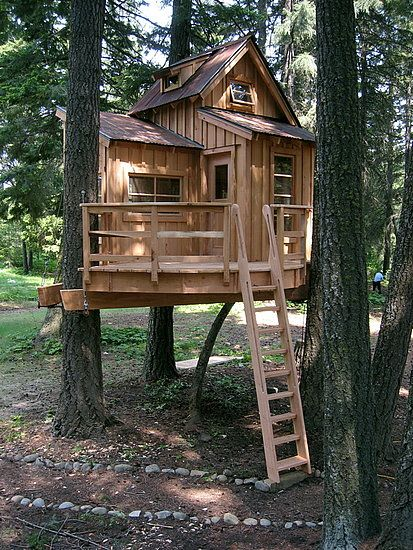 THE OUTDOOR TREE HOUSE