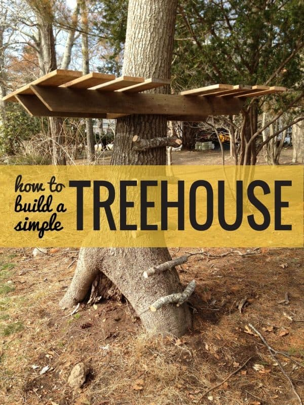 ANOTHER SIMPLE TREE HOUSE plan