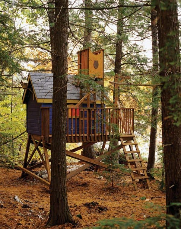 THE COLORFUL TREE HOUSE plans