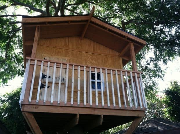 A MEDIUM-SIZED TREE HOUSE