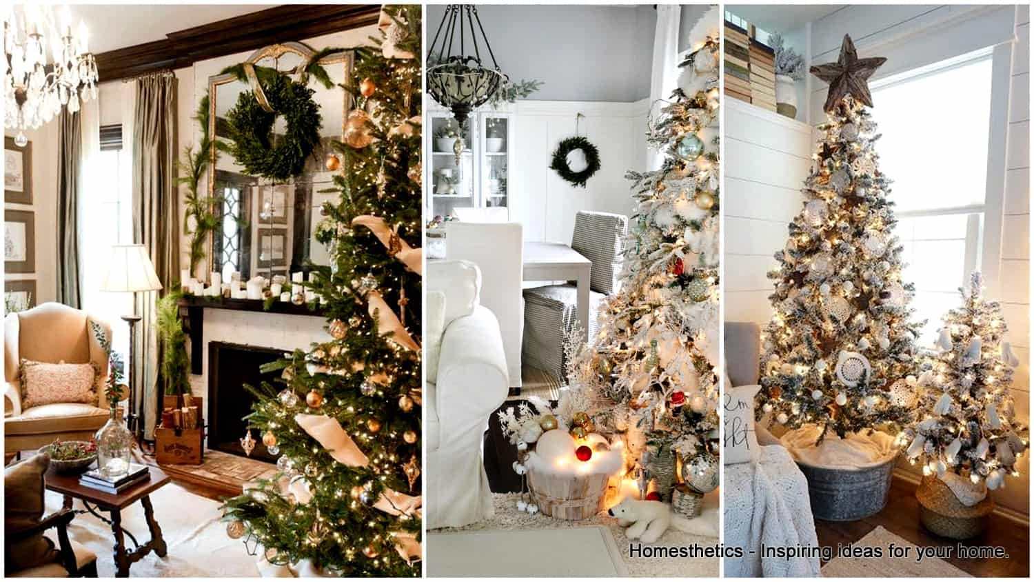 The Simple Guide To The Best Christmas Interiors - Homesthetics ...