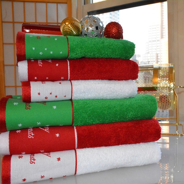 Christmas Kitchen Towels At Walmart: 21 Awesomely Unexpected Christmas Bathroom Decorations To