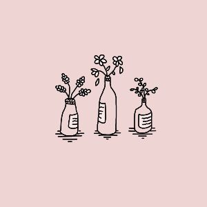 37. FLOWERS IN A BOTTLE