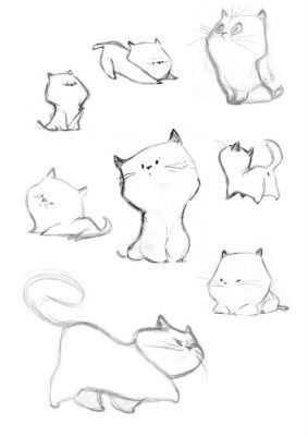97. EPIC POSES FOR A CARTOON KITTEN