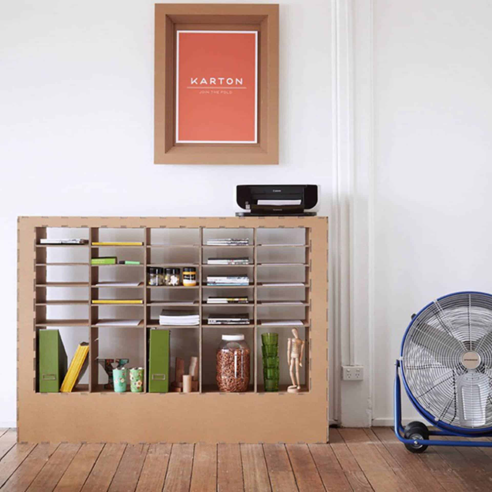 eco friendly and affordable karton furniture 9