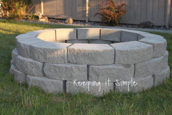 THE SIMPLE FIRE PIT