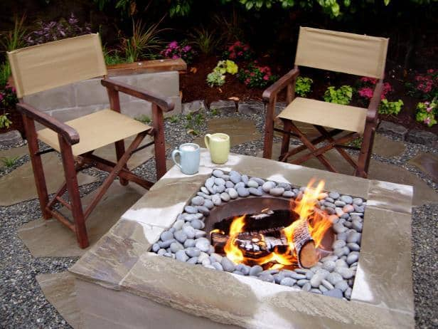 THE SQUARE FIRE PIT
