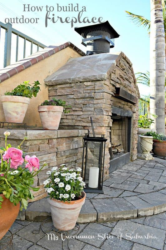 THE FIREPLACE IN YOUR GARDEN