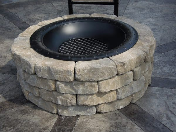 THE METAL GRILL FIRE PIT