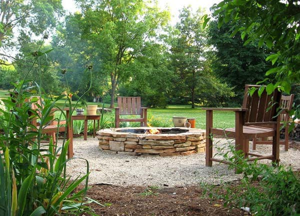 THE LOW NECKED STACKED FIRE PIT