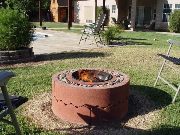 THE TREE RING FIRE PIT