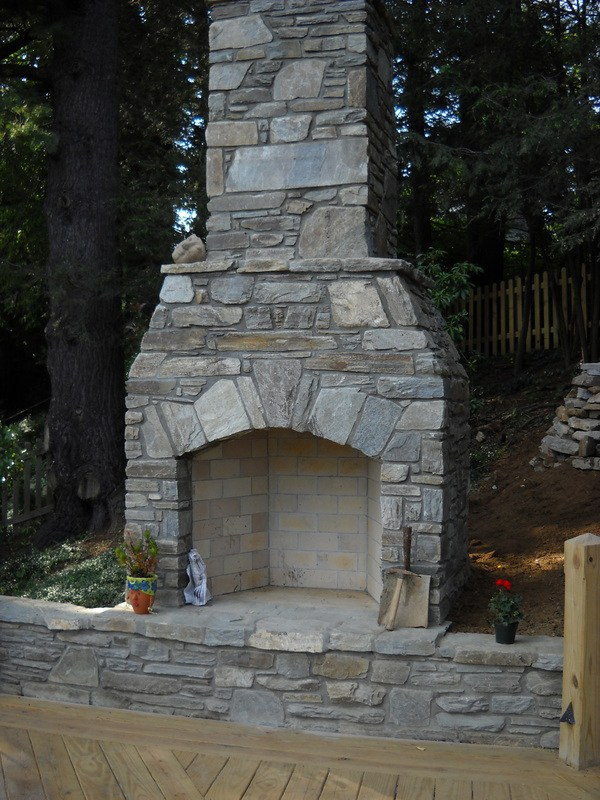 diy fireplace outdoor watch plans project
