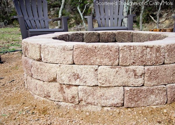 THE BASIC FIRE PIT DIY