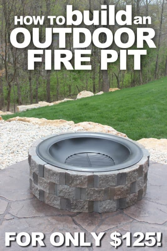 THE BUDGET FRIENDLY FIRE PIT